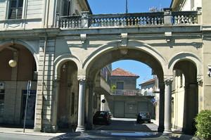 Passerella Balaustrata in Piazza