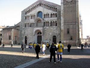 Il Duomo di Parma e la Squadra!