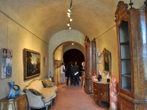 All'interno del Castello.