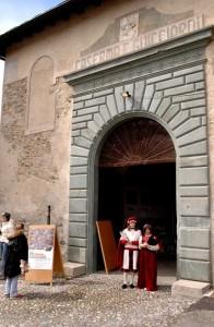 Ingresso al Castello Masegra