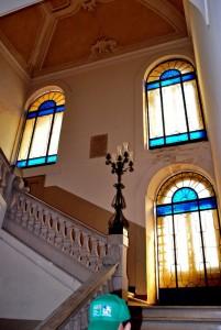 """le vetrate del palazzo San Michele a """"Bari vecchia"""""""
