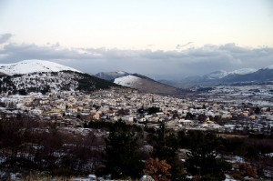 ultime nevi su Barisciano