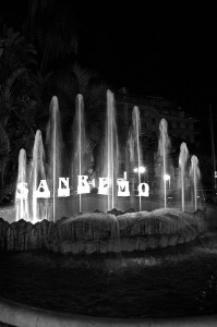 Sanremo,fontana d'estate