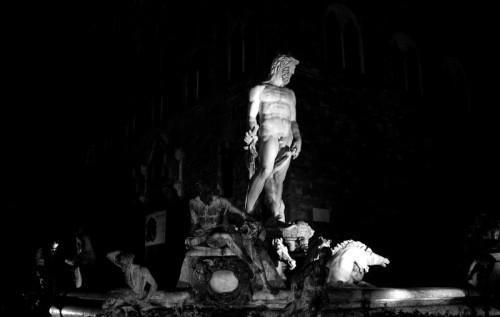 Firenze - La fontana del biancone