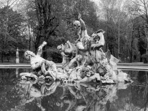 Torino, Giardini Reali, fontana dei Nereidi e Tritoni