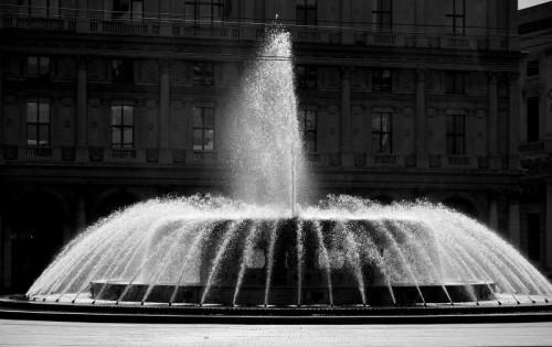 Genova - La fontana di piazza De Ferari