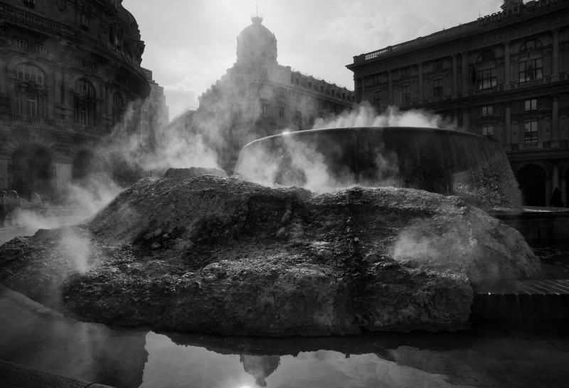 ''Il geyser di De Ferrari'' - Genova