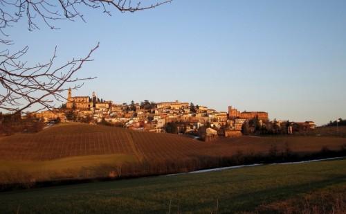 Vignale Monferrato - Colori di un tramonto