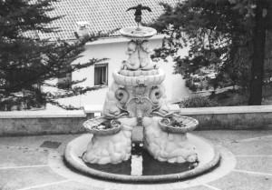 """Una fontana senza """"acqua """""""