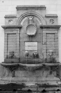La fontana dei mostri marini