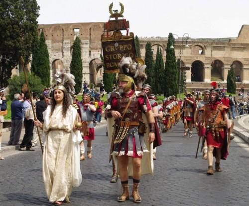 Roma - Gruppo storico romano