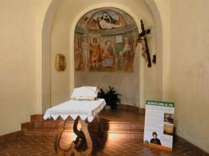 Affreschi nell'oratorio di San Rocco