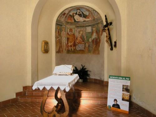Gaglianico - Affreschi nell'oratorio di San Rocco