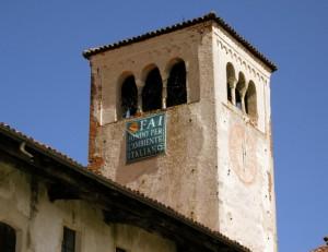 Monastero Clunicense dei Santissimi Pietro e Paolo- Il campanile