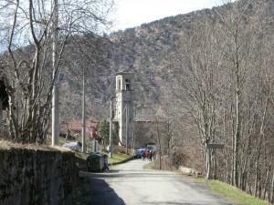 panorama della frazione Castagnole di Germagnano