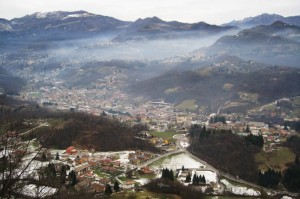 Sant'Omobono Terme in inverno