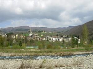 Pievepelago nella valle dello Scoltenna