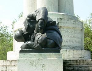 Modena monumento ai caduti della prima guerra mondiale