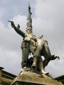 Monumento ai caduti della battaglia di Mentana.