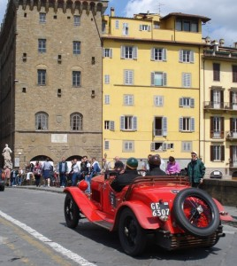 La bella genovese in Transito a Firenze.