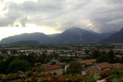 Gemona del Friuli - Nuvole basse su Gemona