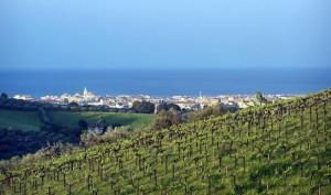 Pescara oltre le colline