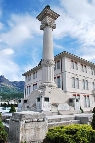 Santa Giustina - Monumento ai Caduti di S.Giustina