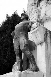 Monumento ai caduti di Gubbio nella Grande Guerra (particolare)