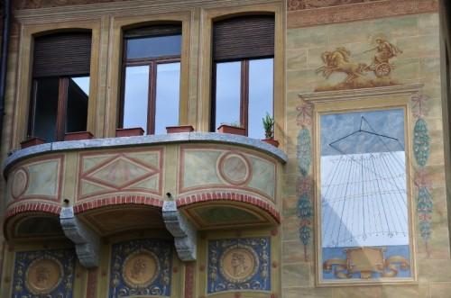 Fino Mornasco - balcone con vista...