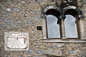 All'entrata di unoi dei Borghi più Belli d'Italia