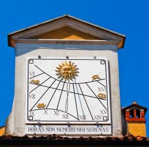 Meridiana e lo zodiaco