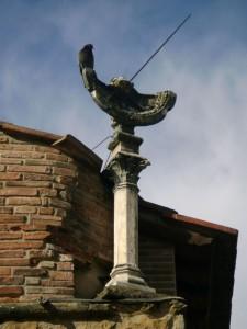 Meridiana medievale.
