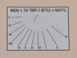 Meridiana dell'Istituto di musica e arte del Molise, Larino (CB)