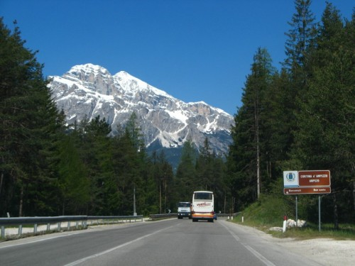 Cortina d'Ampezzo - On the road