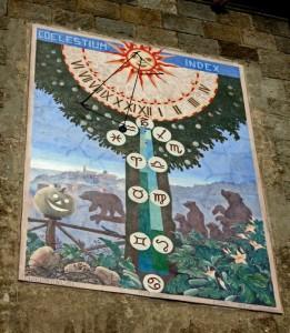 Gli orsi, le zucche…e la meridiana, naturalmente!