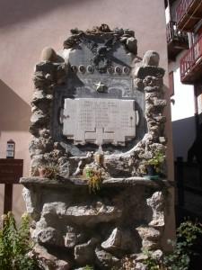 Edicola in ricordo dei caduti di Upega