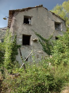Canate,frazione abbandonata.