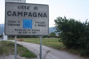 Cartello Campagna (Salerno)