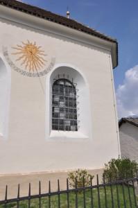 la meridiana della chiesa