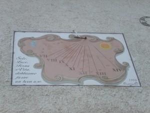Meridiana di Bersezio, frazione di Argentera