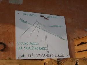 Monterosso Grana, frazione Sancto Lucio di Coumboscuro