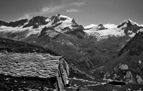 Valsavarenche - Alpeggio abbandonato al Plan Borgno
