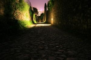 Passeggiando di notte……