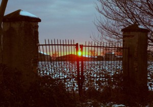 Verso l'ora del tramonto