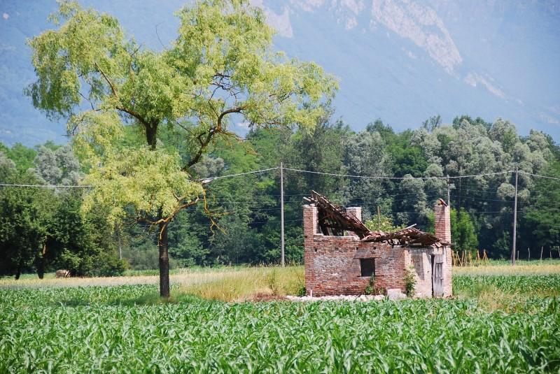 ''fra i campi di mais'' - Santa Giustina