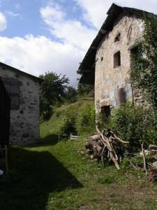 casa di Limonetto, frazione di Limone Piemonte. Val Vermenagna