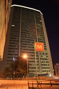 La metropolitana…