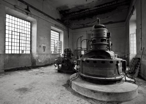 Tarquinia - Cartiera Di Tarquinia Sottostazione Elettrica e Controllo prese Acqua