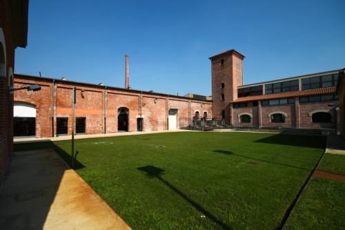 Piazzola sul Brenta - Ex Jutificio - Ampia veduta di un cortile interno