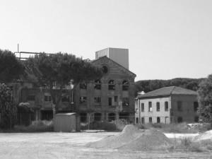 un fabbricato dell'ex zuccherificio